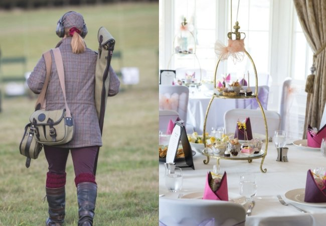 Image for Ladies Clay & Prosecco Afternoon Tea for Two